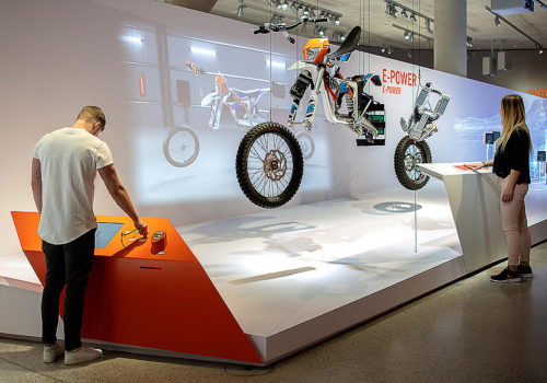 KTM Motohall in Mattighofen 03