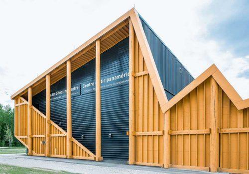 Sportschießanlage: Christie Mills Sauna im Hafen: raumlabor berlin