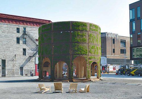 Brunnenhaus: Christine Kerrigan, raumlaborberlin