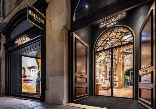 Balmain Flagship Store in Paris 01