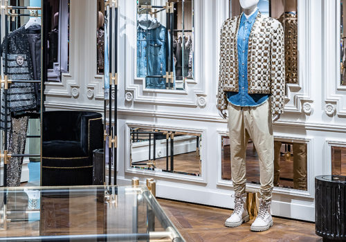 Balmain Flagship Store in Paris 03