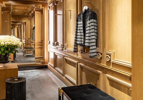 Balmain Flagship Store in Paris 06