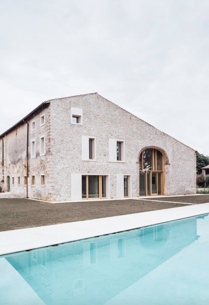 Umbau eines Landhauses in Verona 01