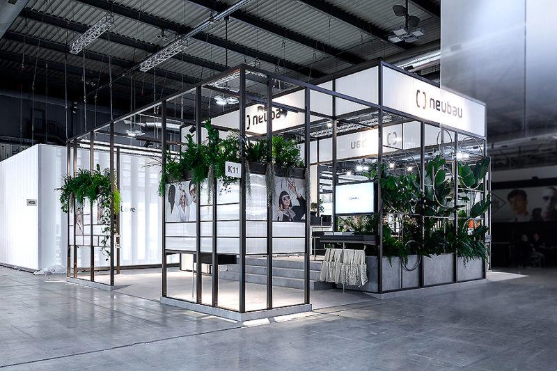 Neubau Messestand in Mailand 01