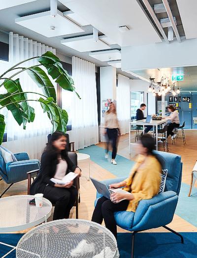 SIX Büro in Zürich von Mint Architecture