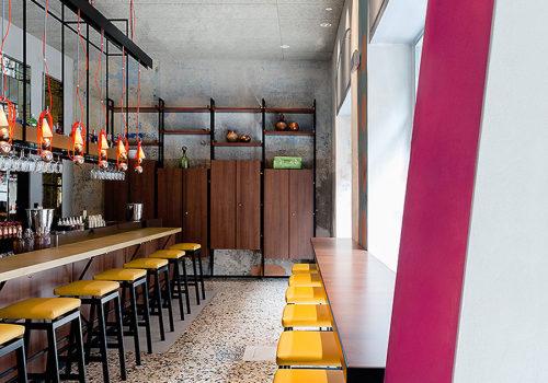 Restaurant in Mailand 02