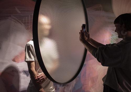 Installation im Pop-up-Instagram-Museum in Brüssel 05