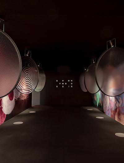 Installation im Pop-up-Instagram-Museum in Brüssel von WeWantMore