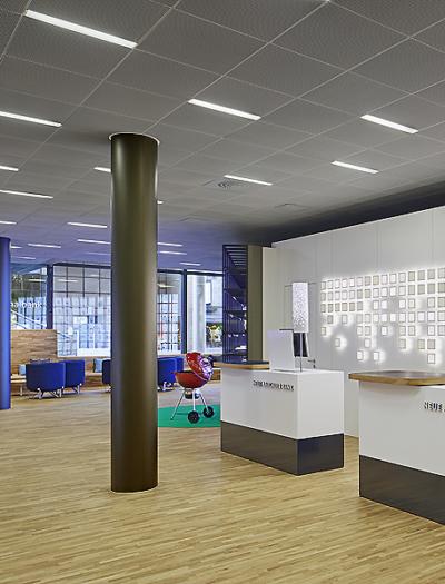 Neue Aargauer Bank in Baden von Bureau Hindermann