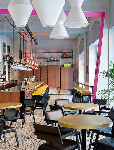 Restaurant Spica in Mailand von Vudafieri-Saverino Partners