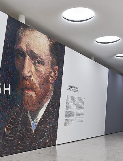 Van-Gogh-Ausstellung in Frankfurt/M. von Bach Dolder