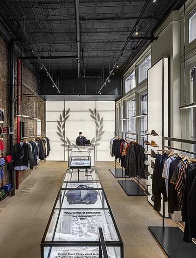 Fred Perry Store in New York von BuckleyGrayYeoman