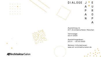 """""""Dialoge Japan : Europa"""" – Ausstellung im AIT-ArchitekturSalon"""