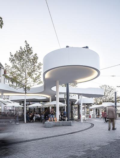ÖPNV-Pavillon in Freiburg von Jürgen Mayer H. und Partner