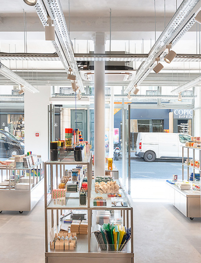 Papier Tigre Store in Paris von Cent15 Architecture