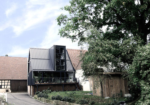 Umbau eines Wohnhauses in Leutenbach 01