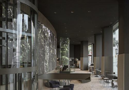 Bankgebäude in Barcelona 02