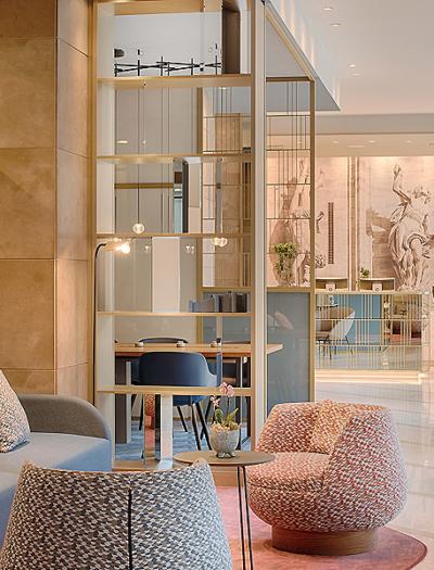 Hotel NH Milano in Mailand von CaberlonCaroppi Italian Touch Architects