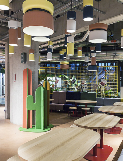 Kantini Foodmarket in Berlin von Studio Aisslinger