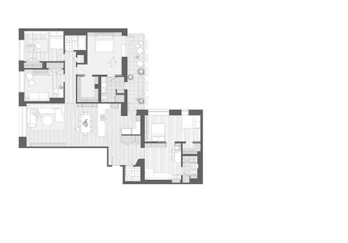 Apartment in New York von Frederick Tang Architecture 10