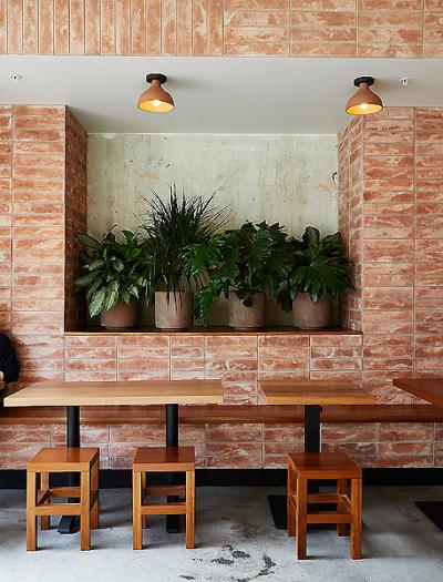 Restaurant Loqui in Los Angeles von Wick Architecture und Land Design
