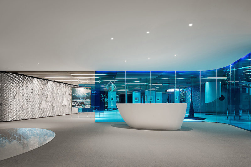 CIFI Sales Center in Qingdao 01