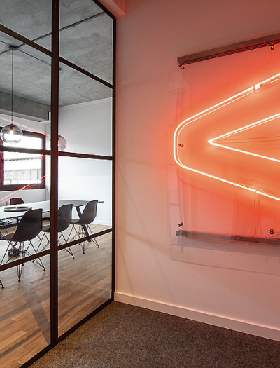 Autentic Office in München von iam / interior-architects-munich