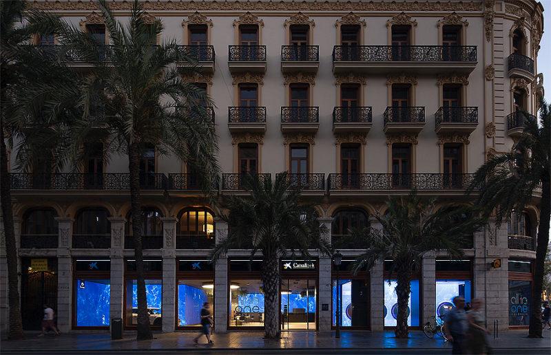 Caixa Bankfiliale in Valencia 01