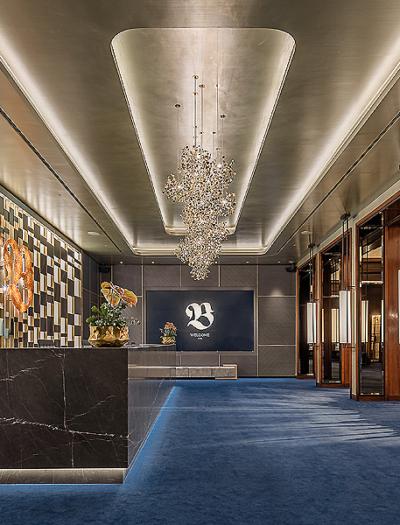 Neugestaltung des Foyers im Casino Baden-Baden von Oana Rosen
