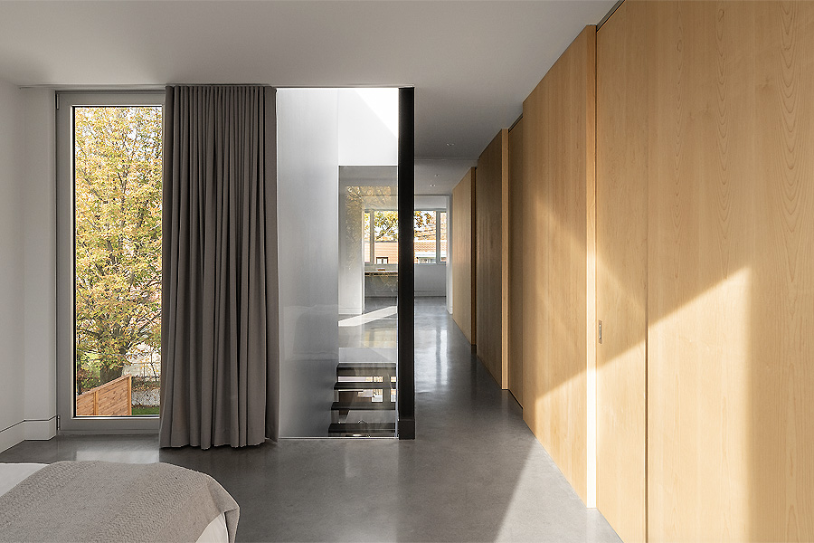 Wohnhaus in Montreal von Natalie Dionne Architecture