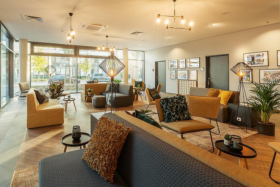 Hotel Niu Mesh in Stuttgart von CIP Architekten Ingenieure