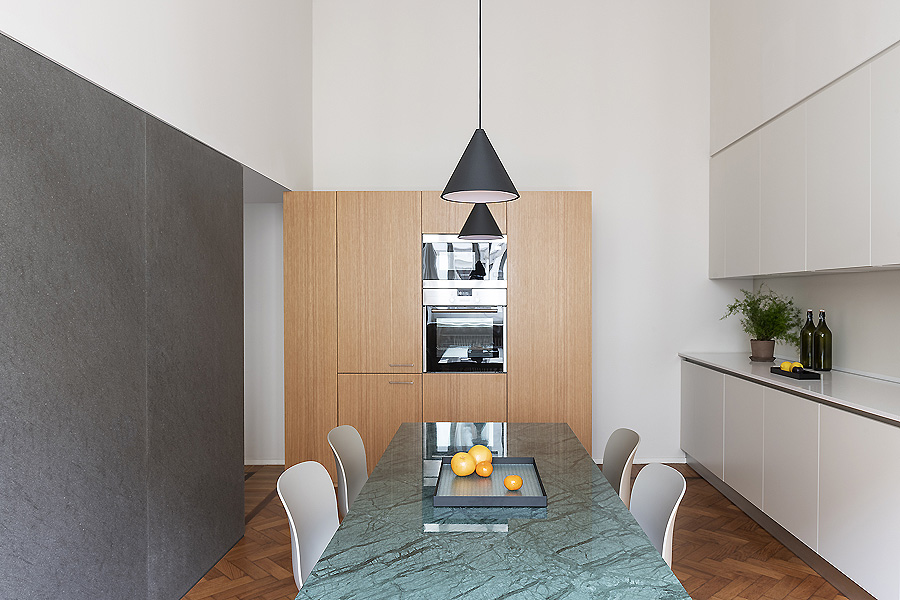 Apartment in Mailand von Wok Studio