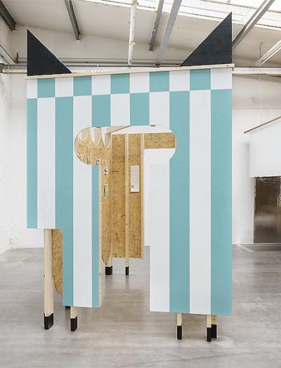 Installation in München von Max Otto Zitzelsberger