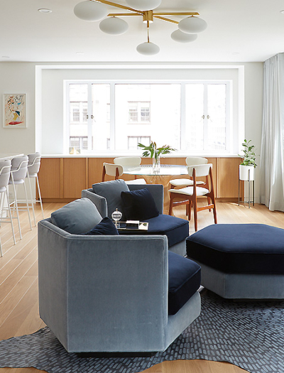 Apartment in New York von Frederick Tang Architecture
