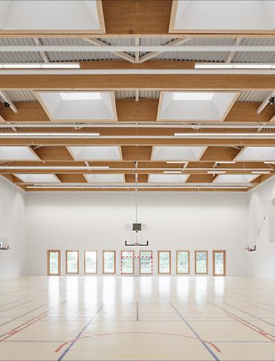 Sportzentrum in Villepreux von Joly & Loiret