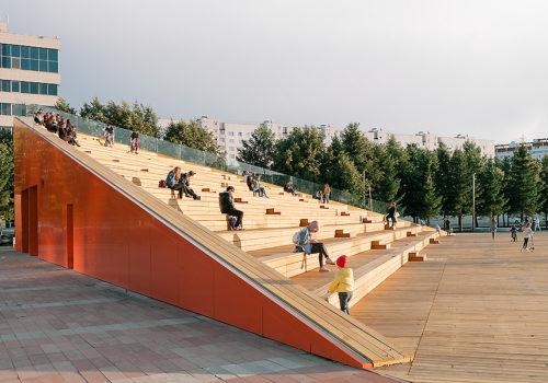Azatlyk Square in Nabereschnyje Tschelny 03