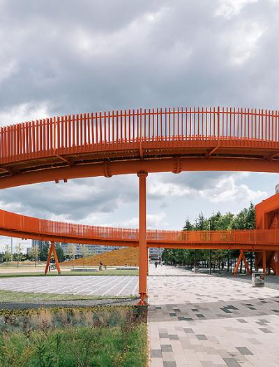 Azatlyk Square in Nabereschnyje Tschelny von DROM