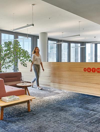 Büro von eGym in München von INpuls