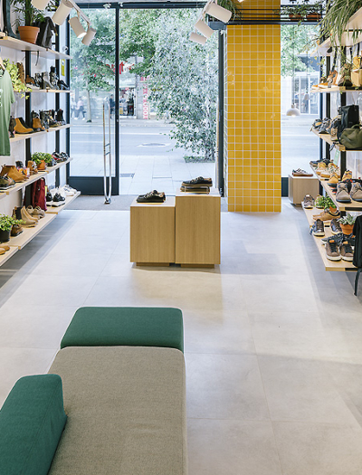 Schuhgeschäft Loopo in Santander von Zooco Estudio