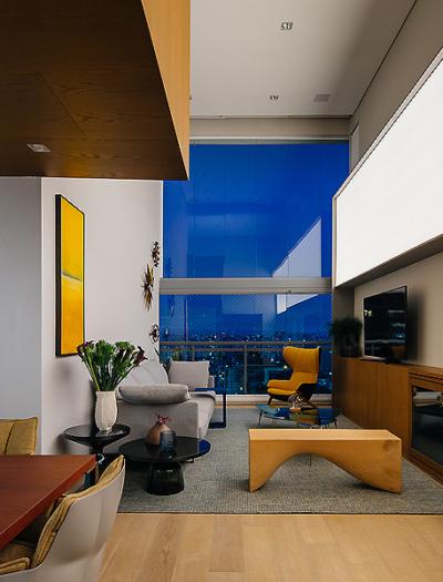 Apartment Brooklin in São Paulo von FCstudio