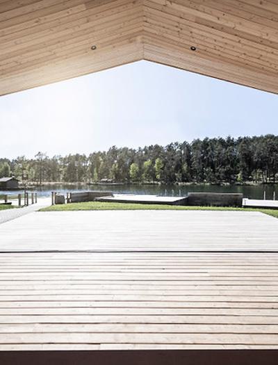 Lake House in Völs am Schlern von noa – network of architecture