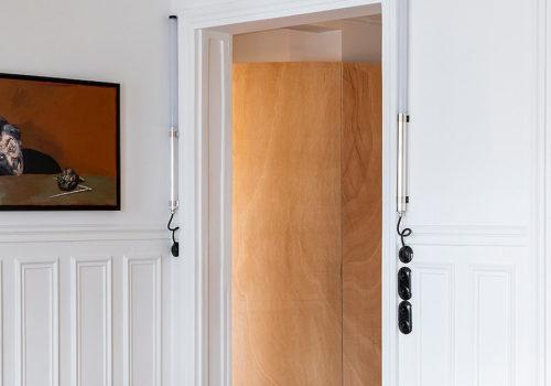 Wood Ribbon Apartment in Paris 03