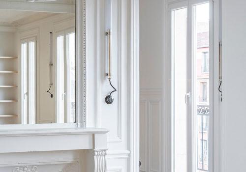 Wood Ribbon Apartment in Paris 06