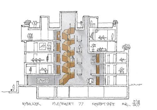 Wohn- und Geschäftshaus in Oslo 14