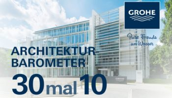 Architekturbarometer 30mal10 – GROHE Digital Talks