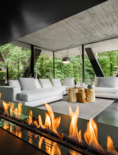 Villa Neo bei Hamburg von Querkopf Architekten