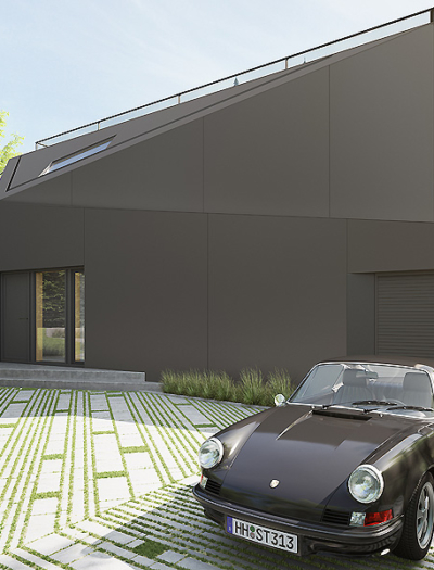 Einfamilienhaus in Hamburg von Lap Architekten