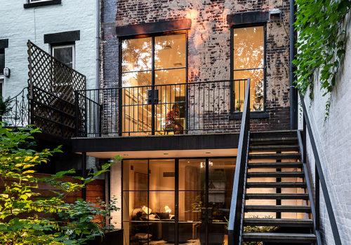 I:\AIT\AITNeugestaltung der Außenanlagen eines Stadthauses in New York 01