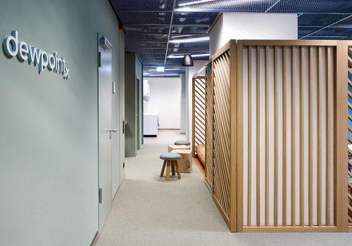 Neugestaltung der Büroräume für Dewpoint in Dresden 01