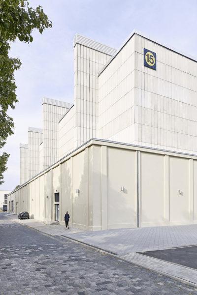 Sanierung und Umnutzung der Messehalle Leipzig 01